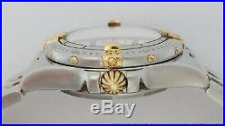 Scarce 18k Gold SS Factory Diamond Breitling Ladies Watch B71340 Box Papers