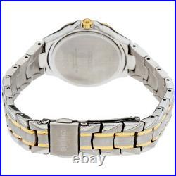 Seiko Diamonds Quartz Movement Mother Of Pearl Dial Ladies Watch SUT372