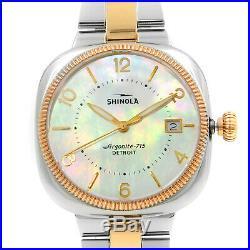 Shinola The Gomelsky Rose Gold Tone Steel Quartz Ladies Watch S0120001102