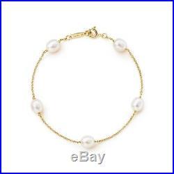 Tiffany & Co. Elsa Peretti Pearls by the Yard Bracelet 18k Yellow Gold