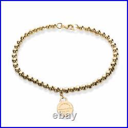 Tiffany & Co. Return to Tiffany Bead Bracelet in 18K Yellow Gold