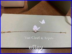 Van Cleef & Arpels Sweet Alhambra Bracelet Yellow gold, Mother-of-pearl MINT