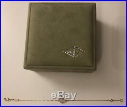 Van Cleef & Arpels Sweet Alhambra Papillon Butterfly Motif Bracelet 18k Gold