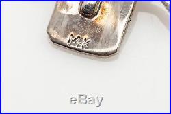 Vintage 1950s 7mm 8mm Cultured Pearl. 33ct Diamond 14k Gold Tri Stand Bracelet
